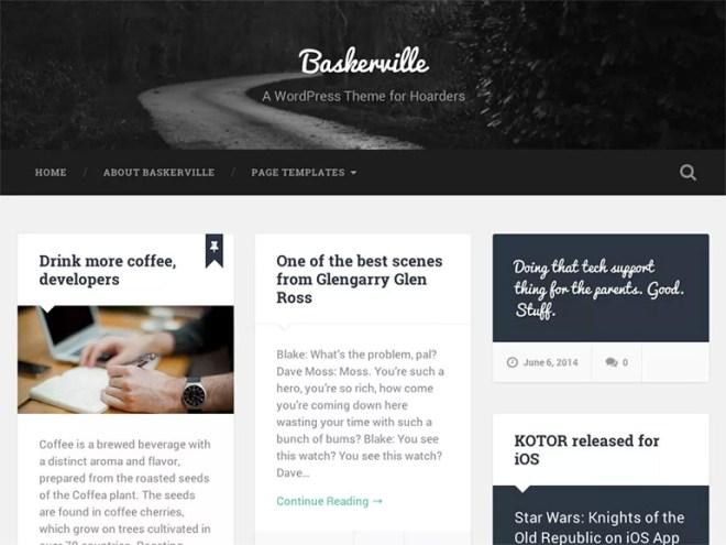 blog wordpress themes responsive
