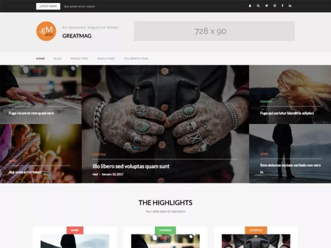 amazing wordpress blog themes