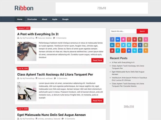 best blog themes on wordpress