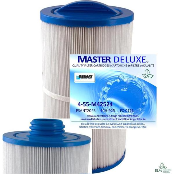 M42524 4-Pack Spa Filters PSANT20-P3 4CH-925