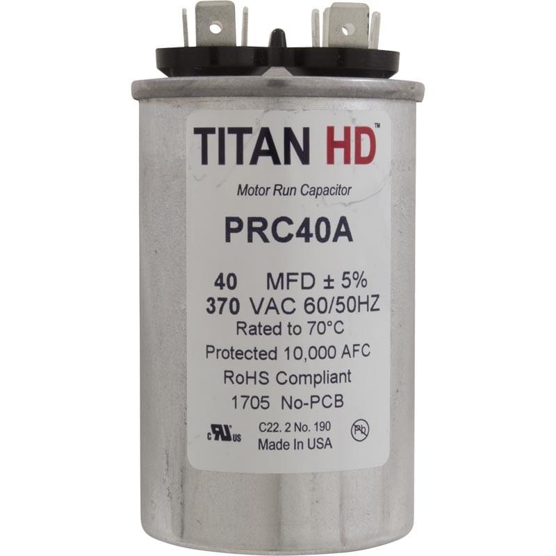 Titan Run capacitor 40 MFD