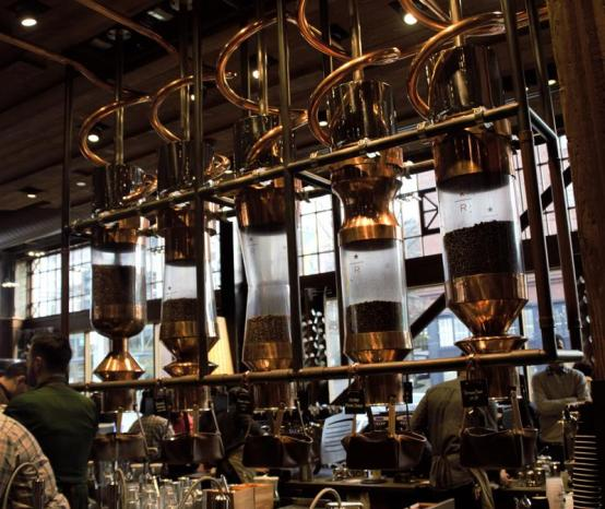 Starbucks Reserve Roastery & Tasting Room: Seattle