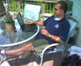 Eric Bazerghi Working from Home