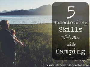 5 Homesteading Skills to Practice while Camping