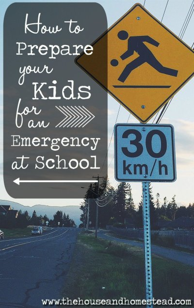 Preparing for emergencies at home is one thing, but what if disaster strikes while your child is at school? Here are 5 teacher-approved suggestions to help you prepare your kids for an emergency at school.