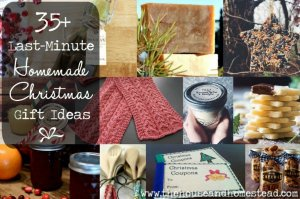 35+ Last-Minute Homemade Christmas Gift Ideas