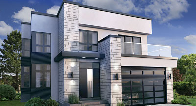 Impressive Contemporary Modern House Plans The House Designers