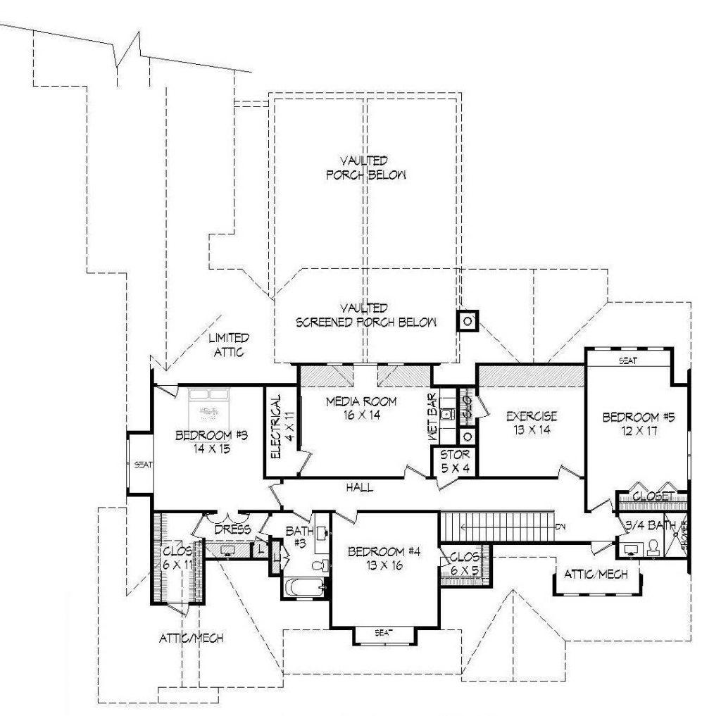 Spacious 4 Car Garage House Plans That Wow