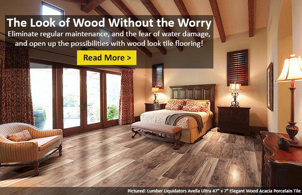 why you ll love wood look tile flooring