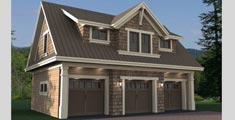 100 Garage Plans And Detached Garage Plans With Loft Or Apartment