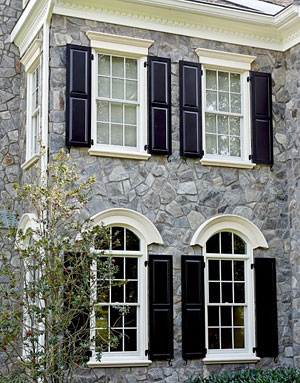 fypon window trim and shutters