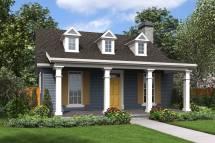 Cape Style House Plan 1917 Lawndale