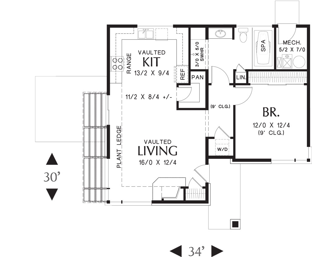 Folkstone 5178  1 Bedroom and 15 Baths  The House Designers