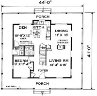 Wrap-around Porch Home 7005 - 4 Bedrooms and 2 Baths | The ...