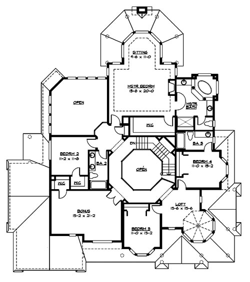 Victoria 3225 4 Bedrooms And 3 Baths The House Designers