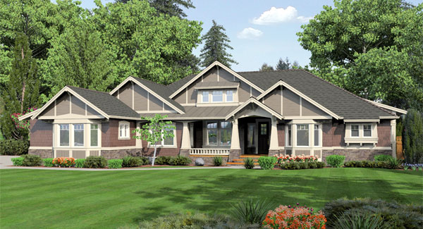featured house plans -story