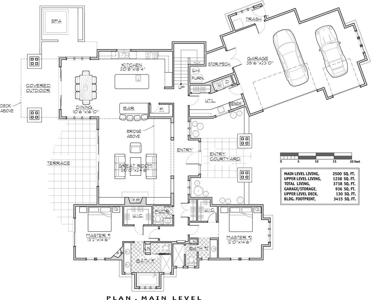Luxury Lakehouse 9046  4 Bedrooms and 4 Baths  The House Designers