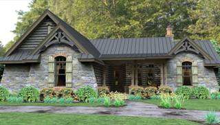 Lake House Plans & Home Designs The House Designers