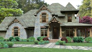 European House Plans Small French Cottage & Modern Style Designs