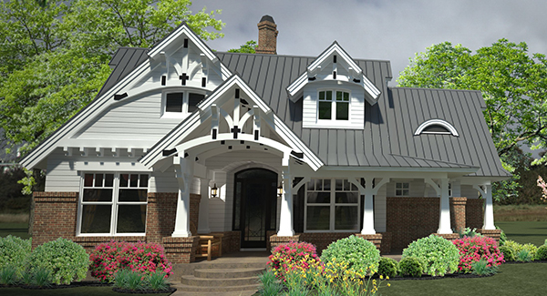 Small Craftsman Style House Plan 2231 Belle Petite Ferme