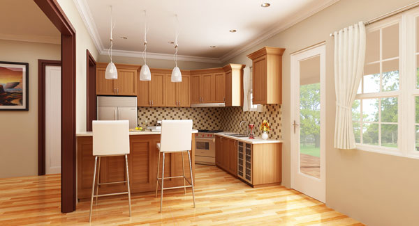 5 Big Ideas For Small Kitchen Designs The House Designers