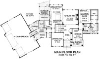 craftsman one-story house plan