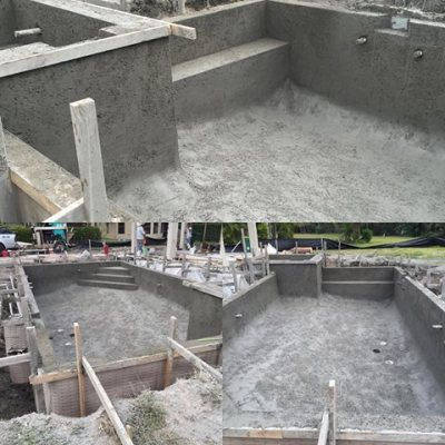 Pool progress!