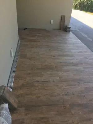 Master deck floor