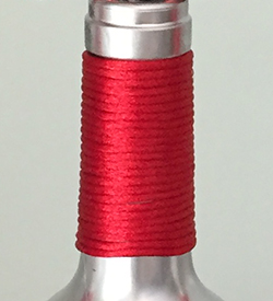 DIY Wine Bottle Christmas Craft