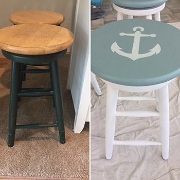 Refinishing Bar Stools
