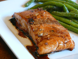 Brown Sugar Soy Glazed Salmon