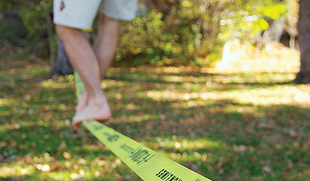 Slackline - 35 Holiday Gifts that Inspire Adventure in Boys