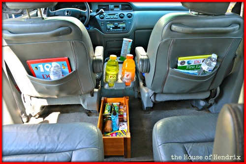 Are your kids always hungry or thirsty in the car? Check out how we ended the constant request for food and drink.