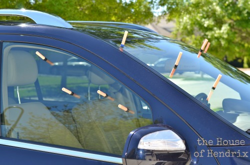 Do your kids fight in the car? Check out how this parent put a stop to it with her unconventional method. (the House of Hendrix)