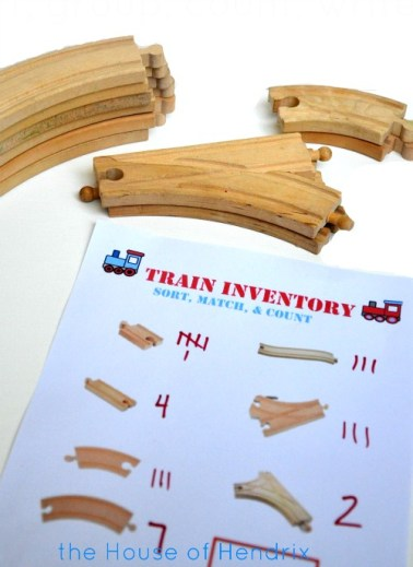 A fresh way to Play Trains. Practice sorting, grouping, counting, and organizing in this fun game which also builds teamwork.