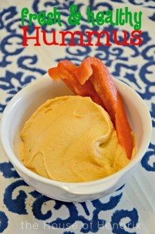 You will never buy hummus again. So easy. So smooth. No aftertaste. Absolutely delicious!|the House of Hendrix