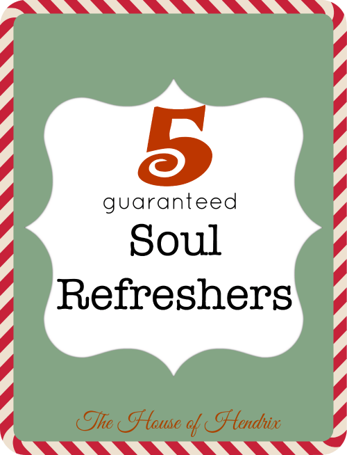 Want an instant soul refresher? Here are 5 videos that will inspire you to see the beauty in the human spirit this holiday season. Love the generosity and acts of kindness that surface  during the Christmas season.