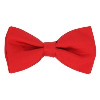 English Red Bow Tie - Tilbury - The House of Ties