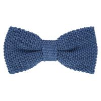 Blue Knit Bow Tie - Monza II - The House of Ties