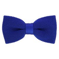 Royal Blue Knit Bowtie - The House of Ties