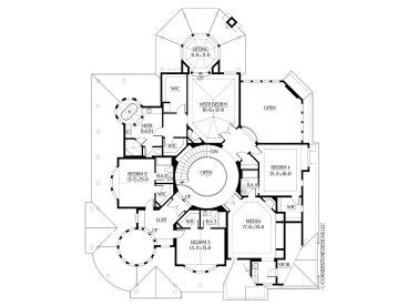 Plan 035H 0036 Find Unique House Plans Home Plans And