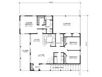 Adobe House Plans | Small Southwestern Adobe Home Plan ...