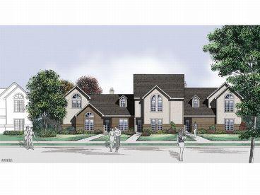Townhouse Plans & Townhouse Floor Plans – The House Plans Shop
