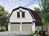 Studio Apartment Plans | Barn-Style, 2-Car Garage ...
