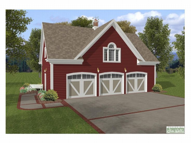 Carriage House Plans Carriage House Plan With 3 Car Garage