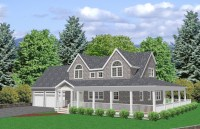 Cape Cod House Plan, 3 Bedroom house plan, Traditional ...