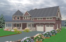 New England Style House Plans