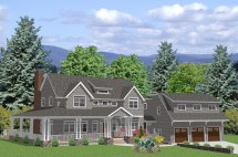 Country Cape Cod House Plans