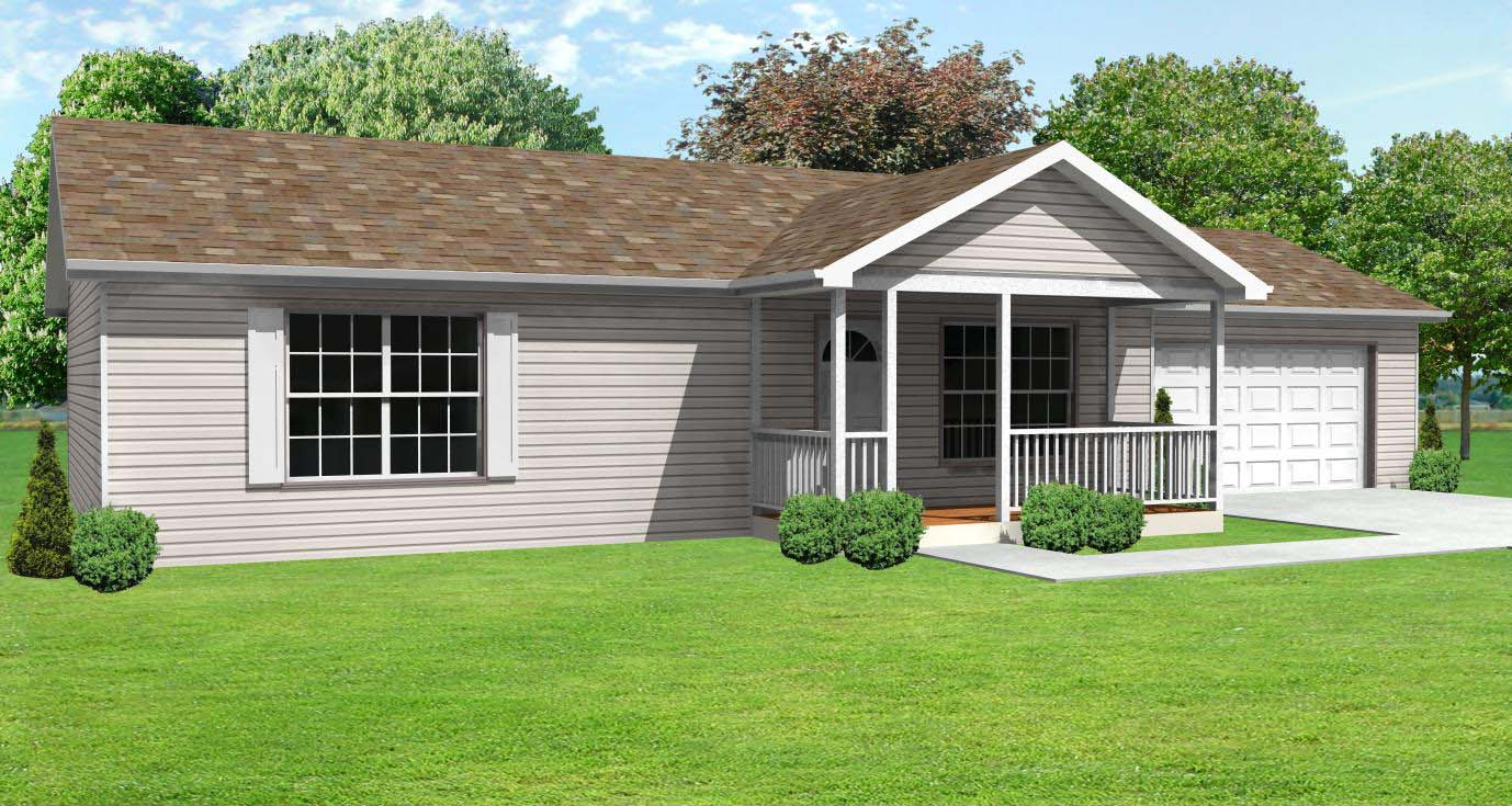 Small House Plans, Small Vacation House Plans, 3 bedroom