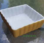 Square baking dish